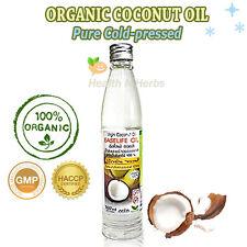 ORGANIC VIRGIN COCONUT OIL 100% Pure Cold Pressed