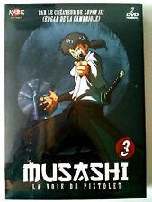 DVD NEUF - COFFRET MUSASHI VOL 3 - LA VOIE DU PISTOLET