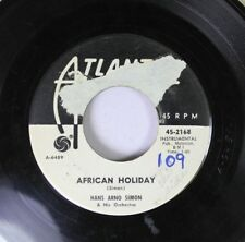 Pop Promo 45 Hans Arno Simon & His Orchestra - African Holiday / Blue Riders On