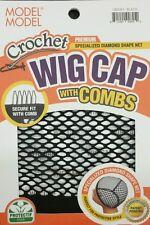 MODEL MODEL PREMIUM CROCHET WIG CAP WITH COMBS