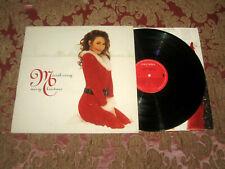 MARIAH CAREY Merry Christmas 1994 EUROPEAN ORIGINAL 1st PRESS VINYL LP Daydream