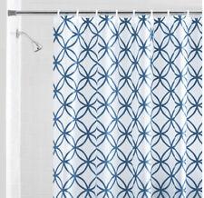 Mainstays Hadley Blue PEVA Shower Curtain