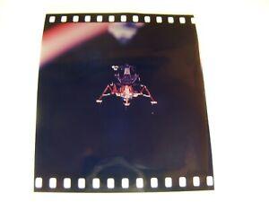 NASA APOLLO MISSION 1st GENERATION FROM MASTER 70mm NEGATIVE EAGLE
