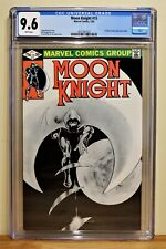 MOON KNIGHT #15 CGC 9.6 - WHITE *CLASSIC COVER* 1ST DIRECT MARKET ONLY ISSUE*