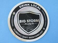 Brewery Coaster ~*~ BIG STORM Brewing Co ~ Odessa, FLORIDA's Craft Brew Forecast