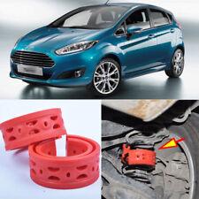 2pcs Rear Air Suspension Shock Bumper Spring Coil Cushion Buffer For Ford Fiesta