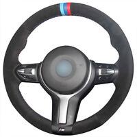 Suede ALCANTARA Steering Wheel Cover BMW F87 M2 F80 M3 F82 M4 M5 F12 F13