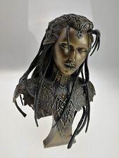 Superbe sculpture Leÿna poussière de bronze IDYLLIS Sandrine Gestin 2001 181/600