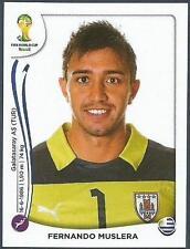 PANINI WORLD CUP 2014- #262-URUGUAY-FERNANDO MUSLERA