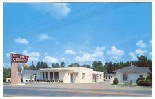 El Dorado AR Whitehall Court AAA Rated Lodging Postcard