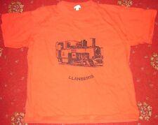 Rojo Motor De Vapor Camiseta con la edad de 9-10