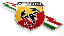 Fiat 124 Abarth Spider Front Wing Side Badge Emblem New Genuine LH 6000621188