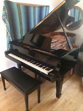 "Yamaha C7 Grand Piano 7' 6"" Disklavier Mark II Midi Player Fiber Optic Beautiful"