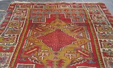 ANTIQUE KARAPINAR PILE RUG PUBLISHED IN ANTIQUE TURKISH RUG BOOK + FREE BOOK