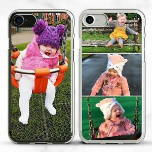 PERSONALISED PHONE CASE COVER PHOTO COLLAGE FOR IPHONE & GALAXY