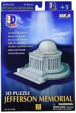 Daron Jefferson Memorial 3D 35 Piece Foam Puzzle Landmark Model Kit