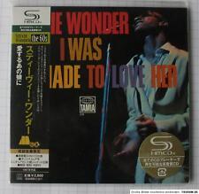 STEVIE WONDER - I Was Made To Love Her JAPAN SHM MINI LP CD NEU UICY-93870