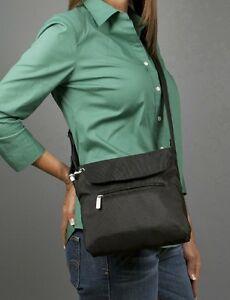 AUTHENTIC TRAVELON ANTI THEFT RFID SAFE CLASSIC MINI SHOULDER BAG/TRAVEL BAG