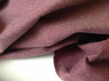 "NEW Heavy Brushed Cotton Mauve Colour Fabric 61"" 156cm Art Craft Jean Jacket TNV"