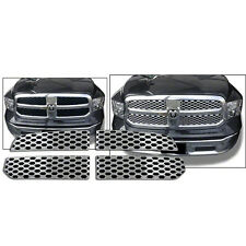 2013-2015 Dodge Ram 1500 chrome honeycomb mesh grille grill insert trim