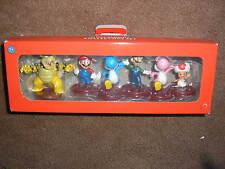 New Super Mario Mini Figure Collectors Set Bowser Yoshi Mario Luigi Toad