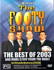 BEST of NRL FOOTY SHOW 2003 (Fatty Sterlo Matty Chief) Aussie Rugby League DVD