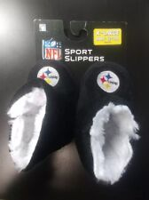 Pittsburgh Steelers Baby Booties Slippers Infant XL NFL Football Licensed