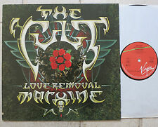 "The Cult ‎– Love Removal Machine  Vinyl 12""  Virgin ‎– 608 887, Beggars Banquet"