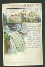 1934 Used Postcard The Home Of Shredded Wheat Niagara Falls New York
