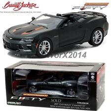 GREENLIGHT 2017 CHEVROLET CAMARO SS BARRETT JACKSON 50TH ANNIVERSARY 1:24 18232