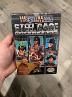 RARE WWF WrestleMania Steel Cage Challenge new SEALED NES Nintendo 1992 vga wata