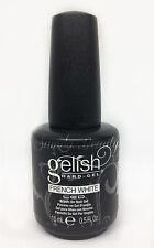 Harmony Gelish Hard-Gel - FRENCH WHITE LED Brush-On Gel 0.5oz #01396
