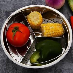 Stainless Steel Steamer Basket Rack Pressure Cooker Accessory Egg Steam Rack