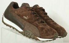 Puma 343931-01 Brown Suede Driving Athletic Fashion Sneakers Men's US 11