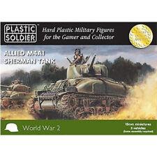 Plastic Soldier 15mm Allied M4A1 Sherman Tank