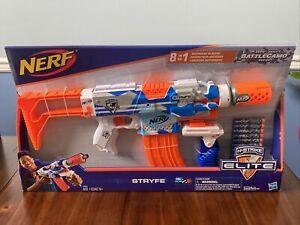 Nerf N Strike Elite Stryfe Blaster Soft Dart Gun Toy BattleCamo Motorized