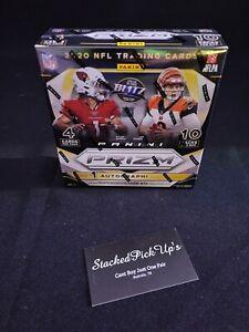 2020 Panini Prizm NFL New Sealed 10 Pack Mega Box Walmart
