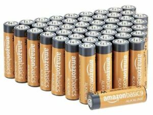 AmazonBasics 48 Pack AA High-Performance Alkaline Batteries NEW EXPEDITED SHIP