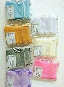 10 x Small Voile bags 10cm x 7cm , excellent quality, cord drawstring, favours