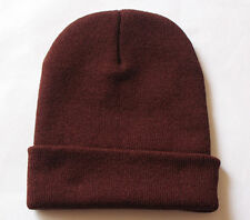 Coffee Mens Ladies Knitted Winter winter Slouch Beanie Hat Cap skateboard