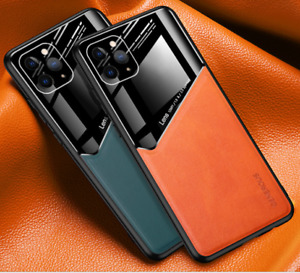 Shockproof Slim Stylish Magnetic Leather Case Cover For iPhone 12 11 Pro Max
