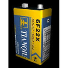 4 × 9V 6F22 Zinc Carbon Primary Battery Brand New Factory Direct Bulk