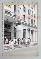 Metropole Hotel Queen's Road Central Street Vintage HONG KONG Photo 18387 香港旧照片