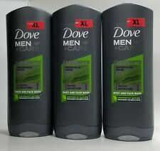 PACK OF 3-Dove Men + Care Elements Body Wash, MINERAL SAGE , 13.5 Ounce 400 ML