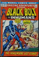 Amazing Adventures #10 / FN+ 6.5 1972 Magneto Black Bolt Inhumans Gil Kane
