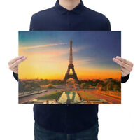 Vintage Classic Kraft Paper Poster Art Wall Stickers Living Room Home Decor