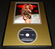 Beyonce Knowles 2003 Me Myself and I Framed 12x18 Cd & Photo Display