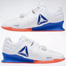 Reebok Legacy Lifter Mens Weightlifting Shoes Trainers Gym White RRP £150 7-12