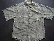 Columbia Men's Short Sleeve Casual Plaid Outdoor Shirt Cotton Large NWoT