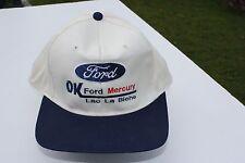 Ball Cap Hat - Ford - OK - Lac La Biche - Mercury Alberta Auto Dealer (H1587)